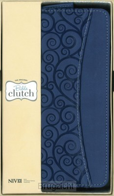 Clutch Italian Duotone bleuberry