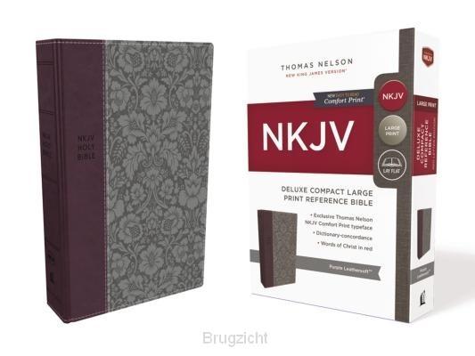 NKJV purple leathersoft