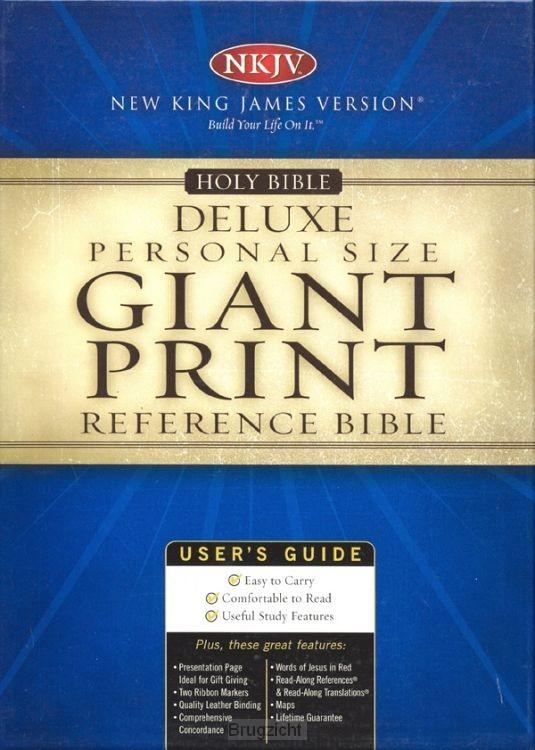 NKJV Bible Giant print reference