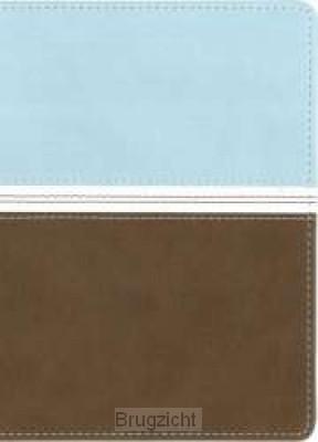 hinline Compact Bible aqua/brown