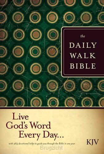 daily Walk Bible-KJV/ Devotional