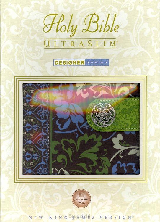 NKJV Holy Bible ultraslim snap closure
