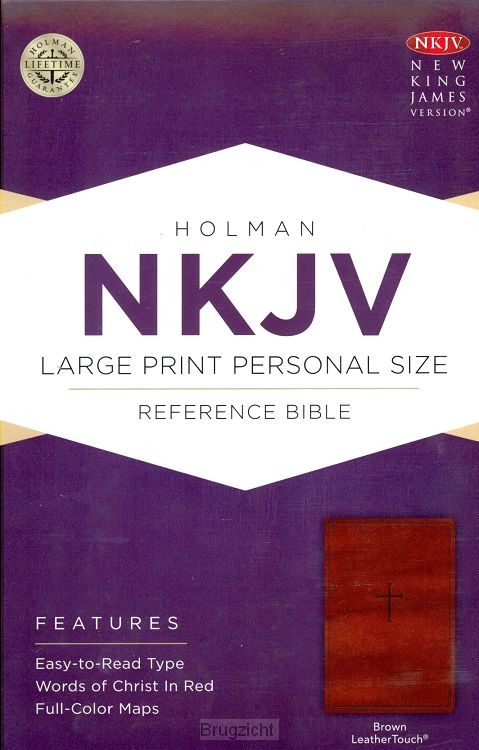 NKJV ref. Bible brown