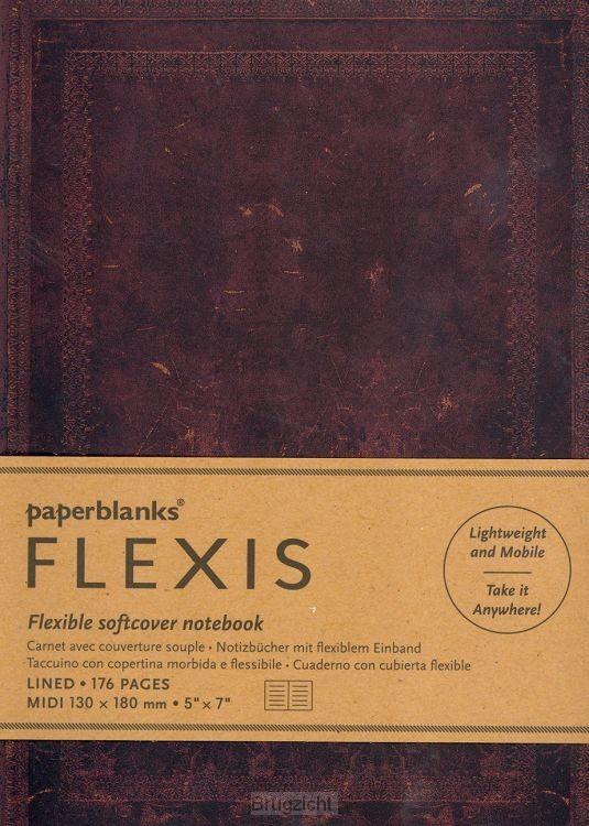 Flexis Black Moroccan Bold 176p midi