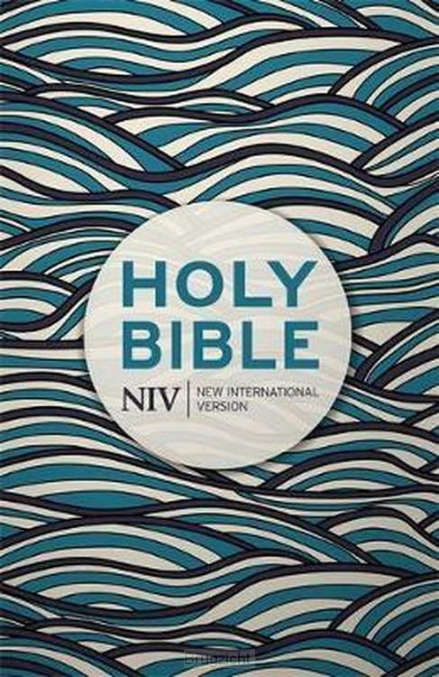 NIV pocket bible blue waves