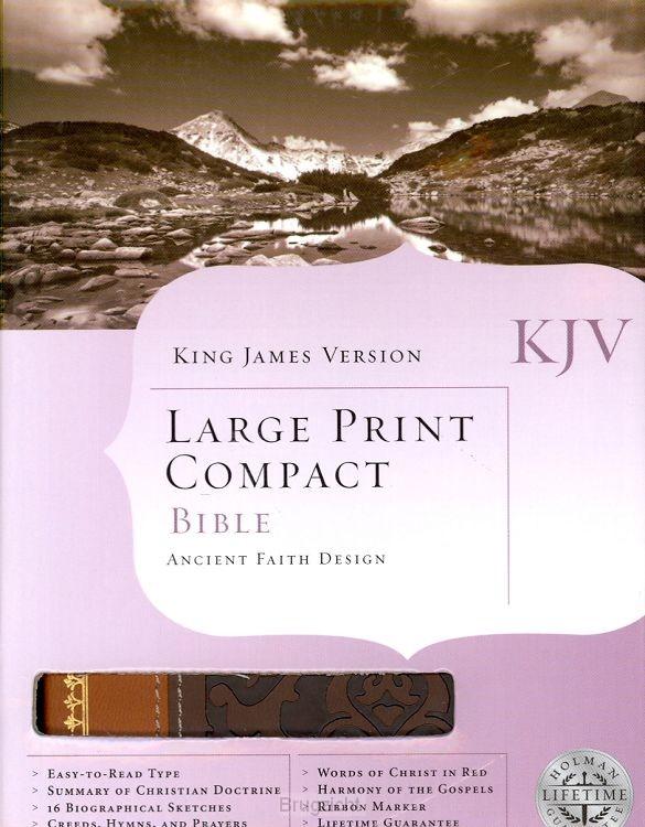 KJV - Compact LP Bible - Ancient Faith