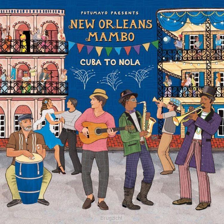 Putumayo Presents-New Orleans Mambo (cd)