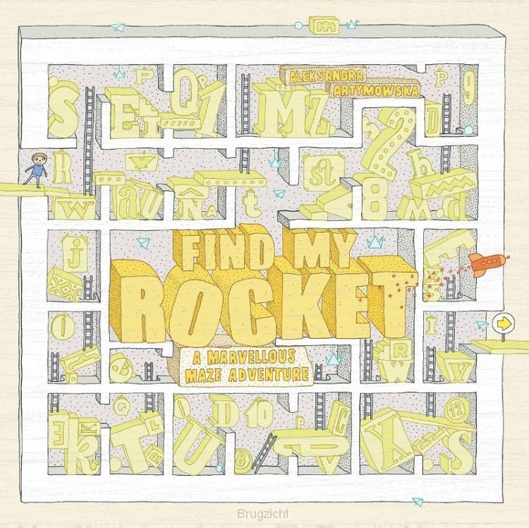 Find My Rocket: A Marvellous Maze Adventure:A Marvellous Maz