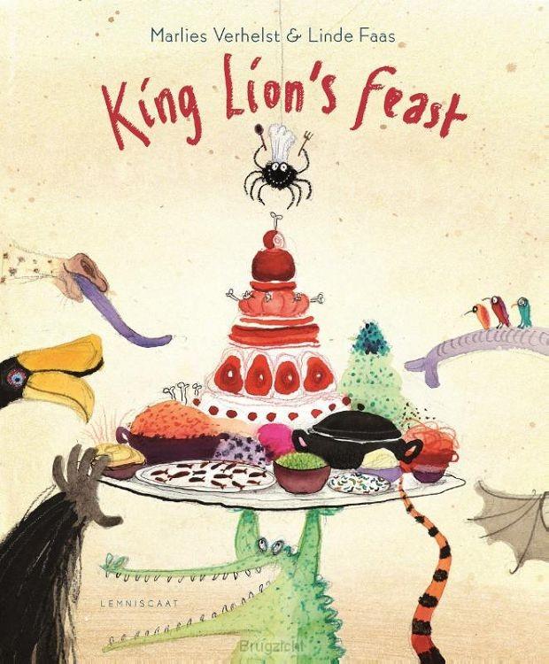 King lions feast