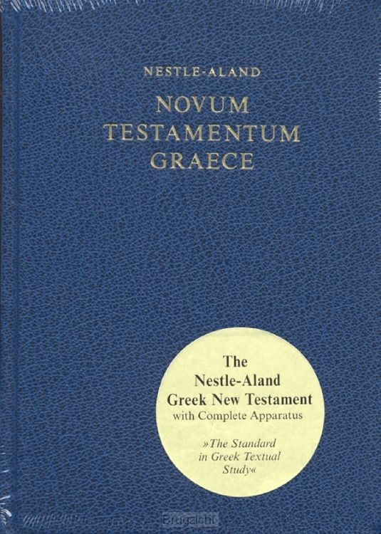 Novum Testamentum Graece Nestle-Aland
