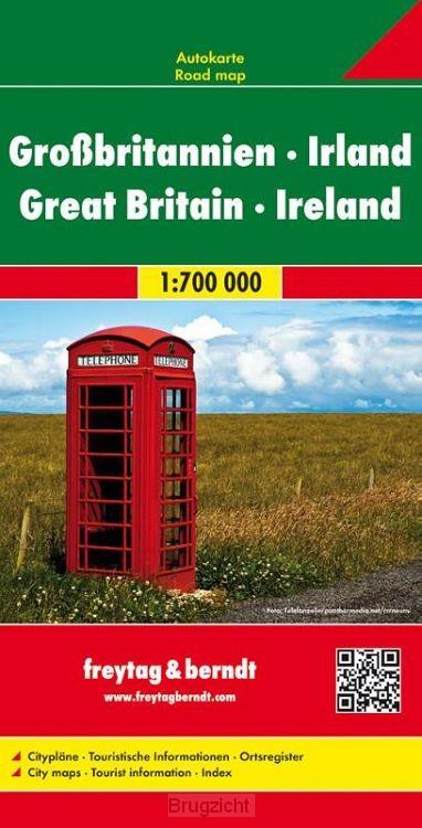 F&B Groot Brittannië - Ierland 2-zijdig