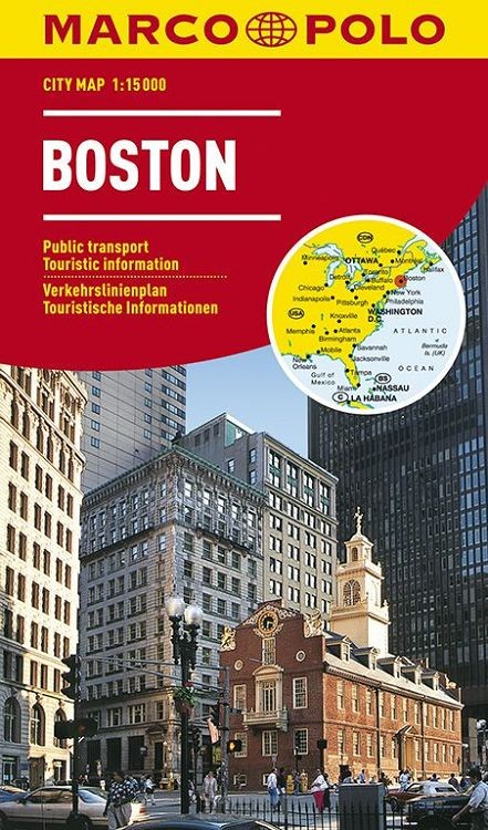 Marco Polo Boston Cityplan