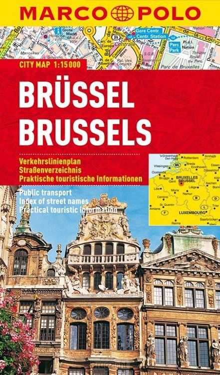 Marco Polo Brussel Cityplan