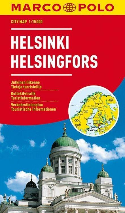 Marco Polo Helsinki Cityplan