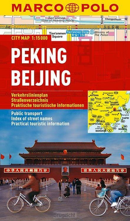 Marco Polo Beijing/Peking Cityplan