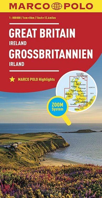 Marco Polo Groot-Brittannië, Ierland