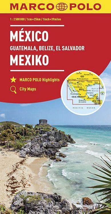 Marco Polo Mexico, Guatemala, Belize, El Salvador