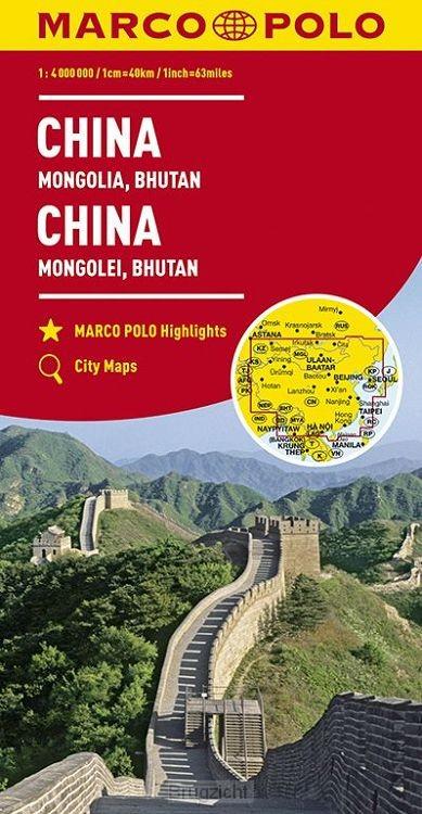 Marco Polo China, Mongolië, Bhutan