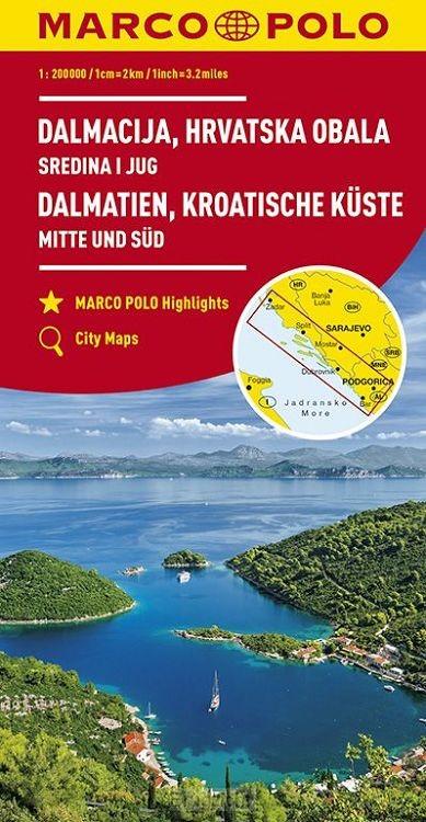 Marco Polo Dalmatië, Kroatische kust Midden en Zuid
