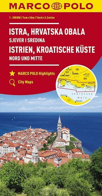 Marco Polo Istrië, Kroatische kust Noord en Midden