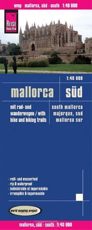 Reise Know-How Rad- und Wanderkarte Mallorca, Süd 1 : 40.000