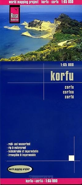 Korfu / Corfu 1 : 65 000