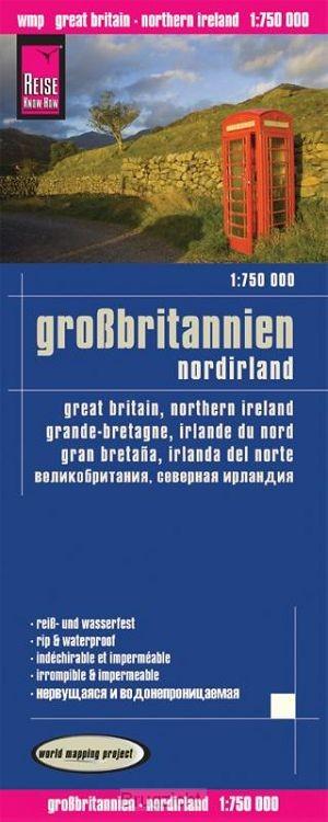 Reise Know-How Landkarte Großbritannien 1 : 750 000