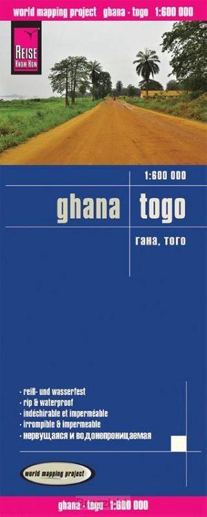 Reise Know-How Landkarte Ghana, Togo 1 : 600.000
