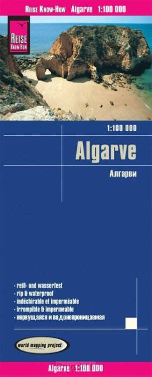 Reise Know-How Landkarte Algarve 1 : 100.000
