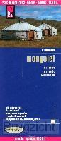 Reise Know-How Landkarte Mongolei 1 : 1.600.000