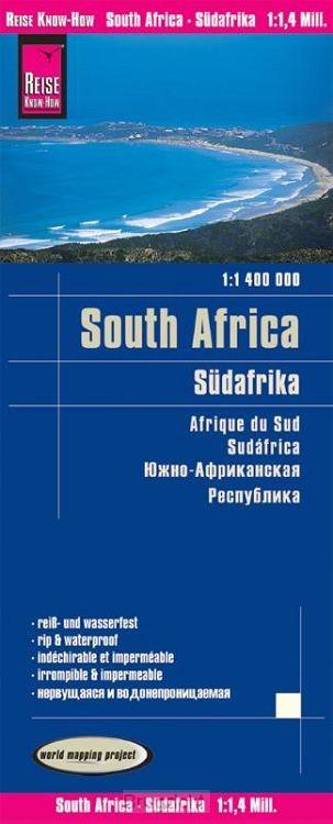 Reise Know-How Landkarte Südafrika (1:1.400.000)
