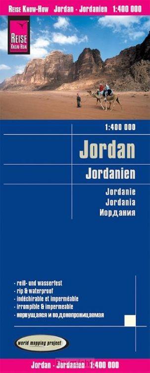 Reise Know-How Landkarte Jordanien (1:400.000)