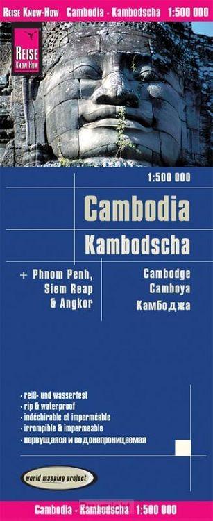 Reise Know-How Landkarte Kambodscha 1 : 500.000