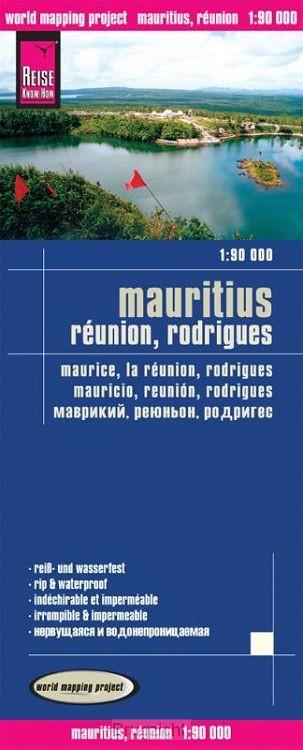 Reise Know-How Landkarte Mauritius, Réunion, Rodrigues 1 : 90.000