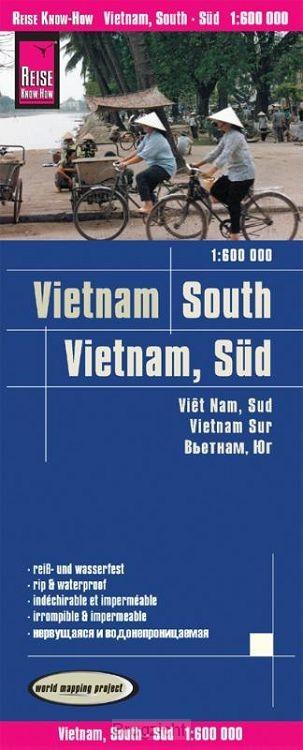 Reise Know-How Landkarte Vietnam Süd (1:600.000)