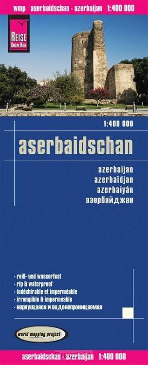 Reise Know-How Landkarte Aserbaidschan 1 : 400.000