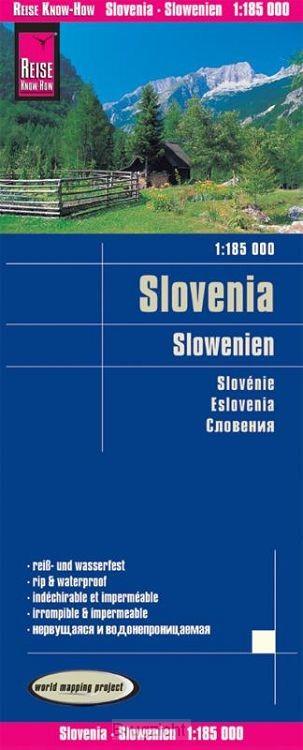 Reise Know-How Landkarte Slowenien 1 : 185.000
