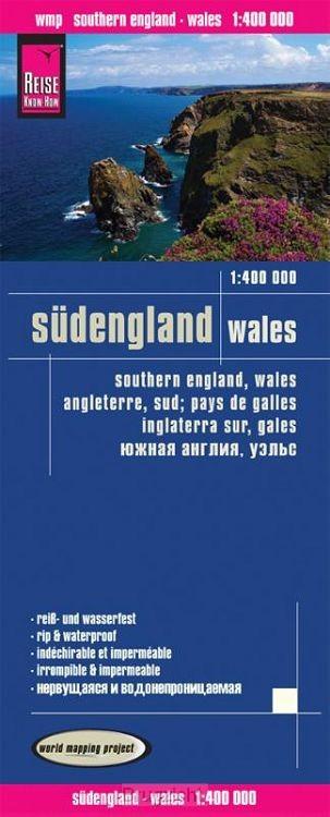 Reise Know-How Landkarte Südengland, Wales 1 : 400.000