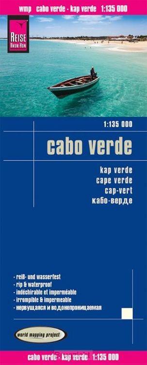Reise Know-How Landkarte Cabo Verde 1:135.000