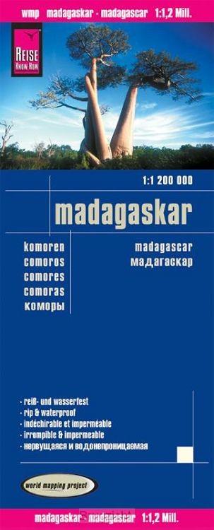 Reise Know-How Landkarte Madagaskar 1 : 1.200.000