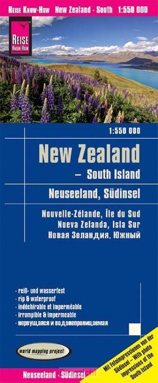 Reise Know-How Landkarte Neuseeland, Südinsel  1:550.000