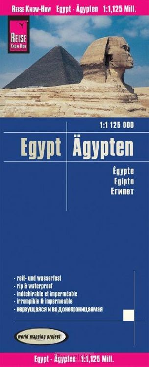 Reise Know-How Landkarte Ägypten (1:1.125.000)