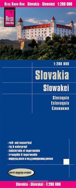 Reise Know-How Landkarte Slowakei 1:280.000