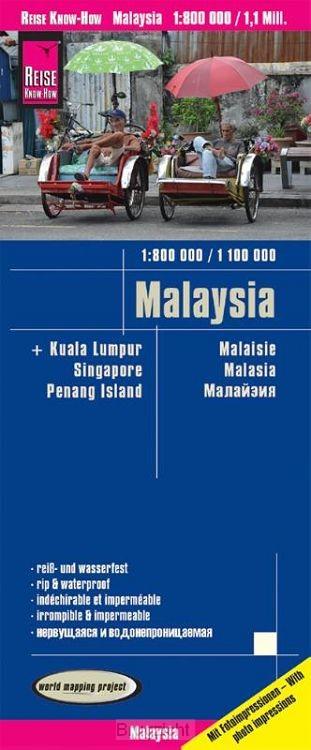 Malaysia (West 1:800.000 / Ost 1:1.100.000)