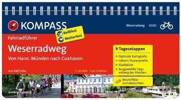 FF6020 Weserradweg, vom Weserbergland nach Cuxhaven Kompass