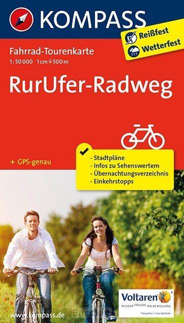 Kompass FTK7056 RurUfer-Radweg