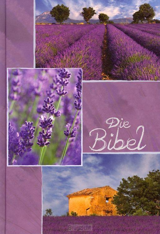 Taschen Bibel Lavandel Motiv