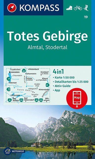 Totes Gebirge, Almtal, Stodertal 1:50 000