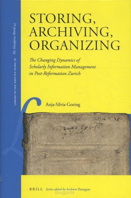 Storing, Archiving, Organizing