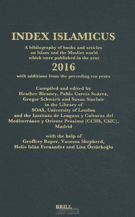 Index Islamicus Volume 2016
